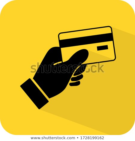 Stock photo: NFC Sign Yellow Vector Icon Design