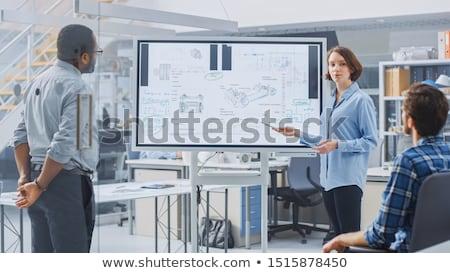 TV Discussion Stock photo © derocz