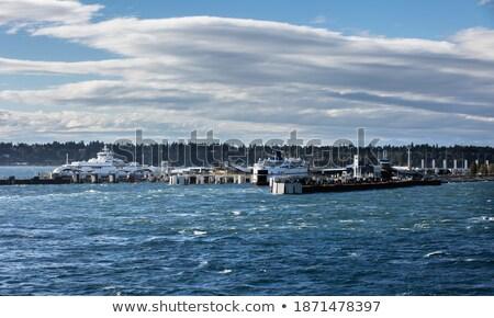 フェリー 船 ドック 自動 ストックフォト © tab62