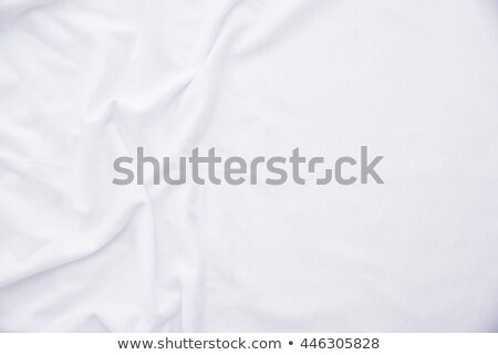 Crumpled bed sheets texture as background Stock photo © stevanovicigor