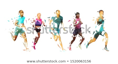 Male coloured bodies Stock photo © bluering