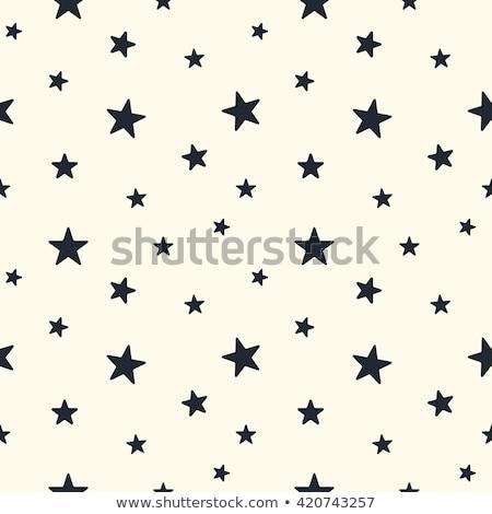 Vektor · Sammlung · schwarz · weiß · Jahrgang · Muster - stock foto © lissantee