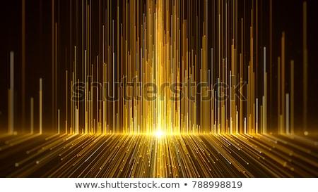 Golden stars on a light background Stock photo © blackmoon979