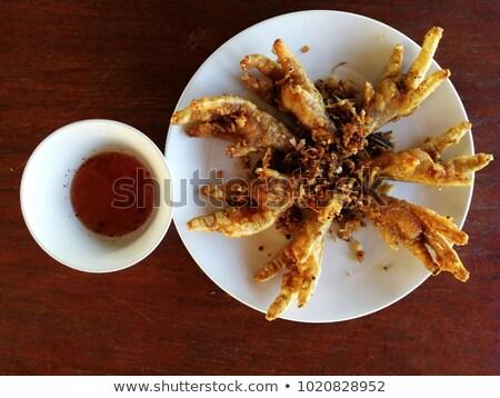 Profonde jaune bol soupe riz objet Photo stock © Digifoodstock