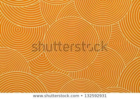 Patroon ovaal achtergrond witte Stockfoto © SArts