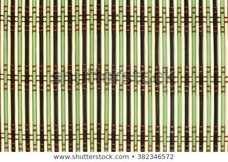 green bamboo tablemat Stock photo © Digifoodstock