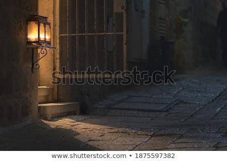 oude · Jeruzalem · ruines · oude · kwartaal - stockfoto © compuinfoto