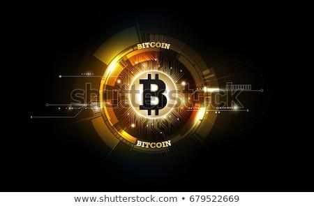 gouden · bitcoin · 3D · geïsoleerd · witte - stockfoto © oakozhan