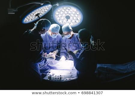 мужчины хирург операция театра больницу Сток-фото © wavebreak_media