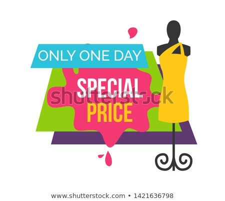 Foto d'archivio: Special Price Only One Day At Female Boutique