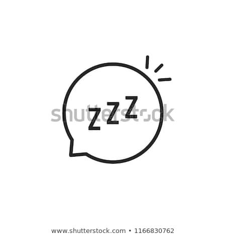 Karikatür balon sıkılmış örnek Stok fotoğraf © cthoman