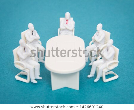 Stock photo: Multiethnic business team working at the same office