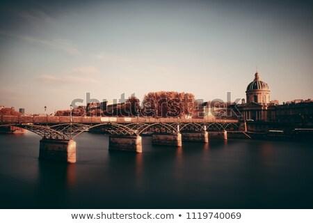 paris cityscape with seine river stock photo © vapi