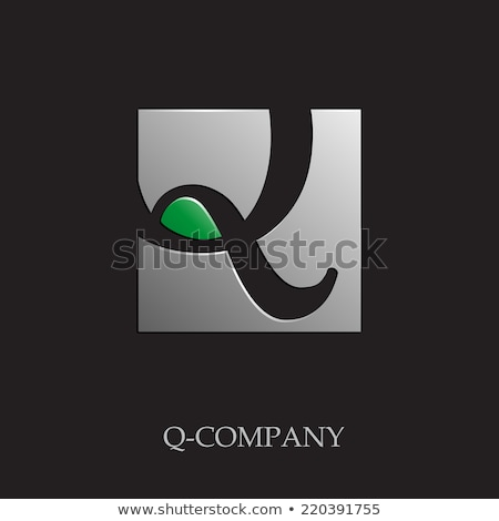 q logo icon green letter vector symbol element Stock photo © blaskorizov