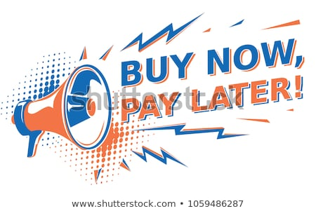 buy now mega discount poster vector illustration stock photo © robuart