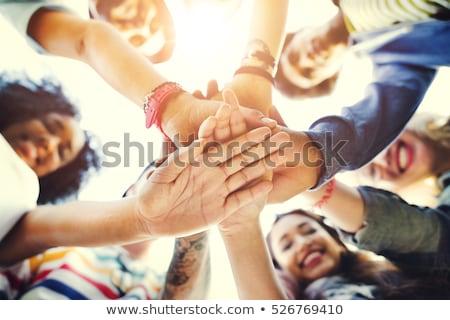 人 手 一起 視圖 商業照片 © AndreyPopov