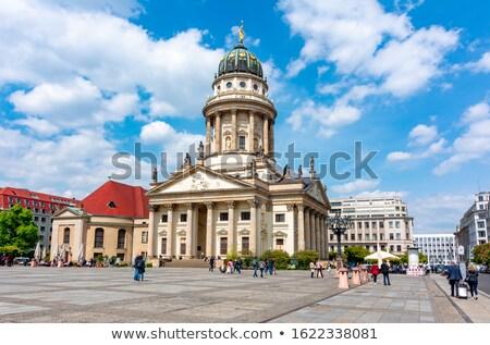 Frans kathedraal Berlijn kerk centrum reizen Stockfoto © borisb17