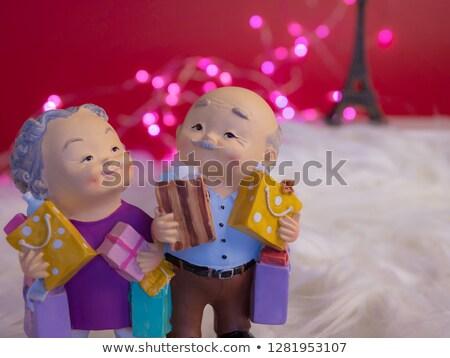Szeretet boldogság valentin nap arc kifejezések emberek Stock fotó © serdechny