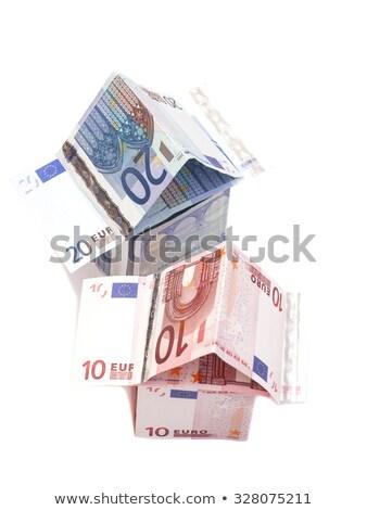 住宅ローン 死んだ スケルトン 家 赤 ストックフォト © visualdestination