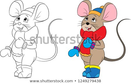 mouse and children stock photo © pkdinkar