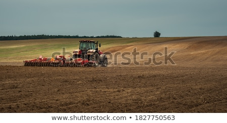agriculture in the twilight of work stock photo © oleksandro