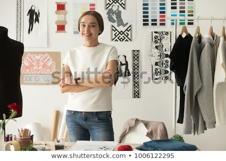 young craftswoman posing stock photo © photography33
