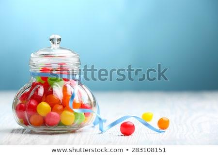 Renkli meyve renkli ayılar Stok fotoğraf © calvste