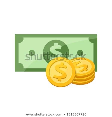 серебро · монетами · старые · выветрившийся · красный - Сток-фото © ivonnewierink