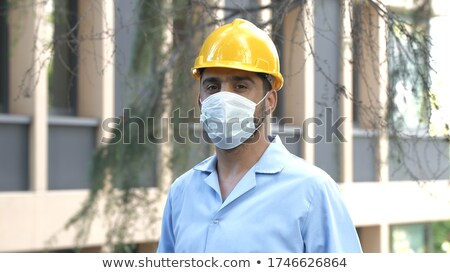 Foreman in house under construction Stock photo © photography33