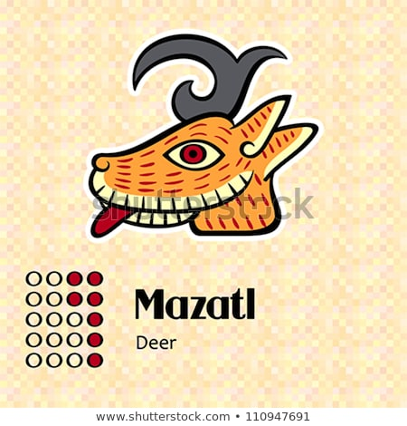 Aztec symbol Mazatl Stock photo © sahua