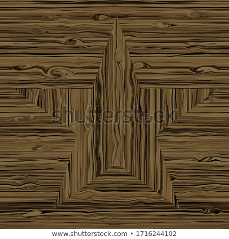 Woodworker pointing to laminate flooring Stock photo © photography33