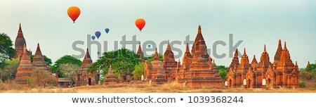 Panorama view of Bagan Stock photo © szefei
