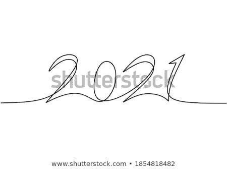Buon anno scarabocchi design Foto d'archivio © jeremywhat