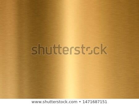 Polido dourado metal indústria industrial ouro Foto stock © shutswis