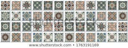 Mosaic tiles Stock photo © trgowanlock
