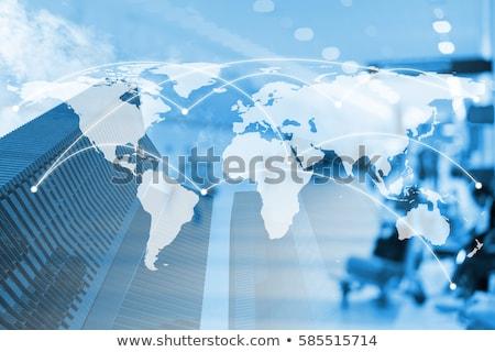 Global Business Grafik Finanzierung Zukunft Wachstum Richtung Stock foto © 4designersart