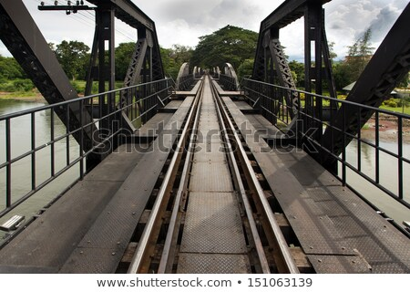 ferrocarril · líneas · metálico · perspectiva - foto stock © smithore