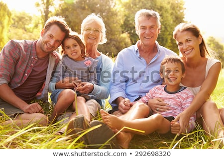 children with parents or grandparents Stock photo © photography33