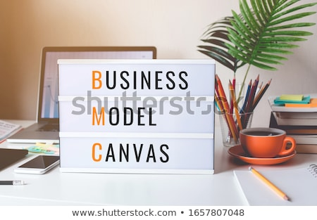 Business model concept Stock photo © raywoo