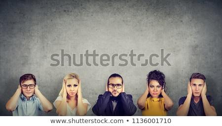Not listening Stock photo © elvinstar