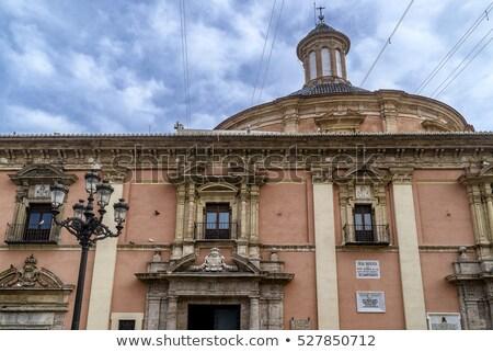 Walencja bazylika kościoła drzwi szczegół Hiszpania Zdjęcia stock © lunamarina
