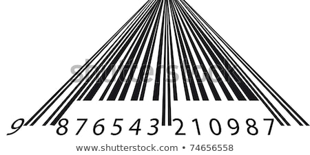 Perspectiva código de barras negócio dinheiro papel natureza Foto stock © shawlinmohd