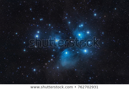 M45 Pleiades seven sisters Stock photo © rwittich