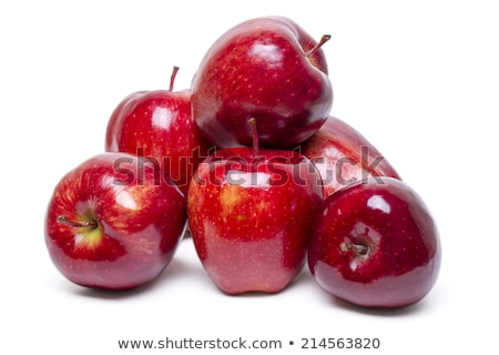 several red apples  stock photo © philipimage