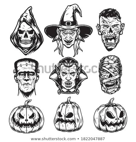 Frankenstein monster illustration Stock photo © Krisdog