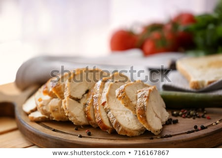Appétissant Turquie pommes de terre four alimentaire cuisine Photo stock © ssuaphoto