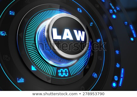Lei preto controlar consolá azul backlight Foto stock © tashatuvango