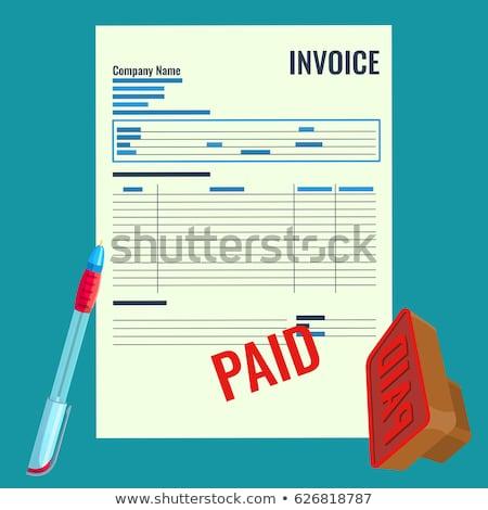 スタンプ · 金融 · 紙 · ビジネス · にログイン · グループ - ストックフォト © fuzzbones0