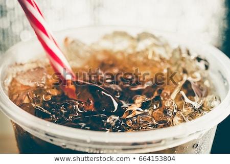 soda fountain drink Stock photo © netkov1