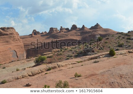 Blues Utah USA paysage neige montagnes Photo stock © phbcz